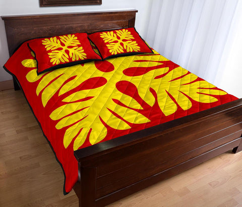 Hawaii Quilt Bed Set Royal Pattern