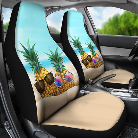 Pineapple Car Seat Covers 04 - AH - Alohawaii