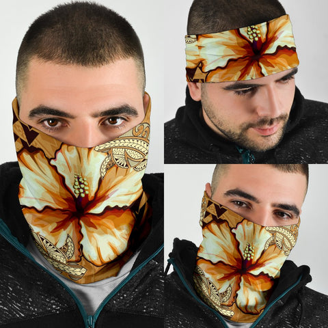Image of Hawaii Retro Vintage Hibiscus Unisex Bandana 3-Pack - AH J0 - Alohawaii