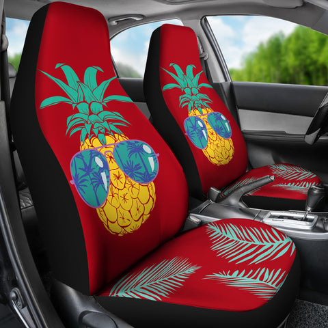 Image of Pineapple Car Seat Covers 02 - AH - Alohawaii