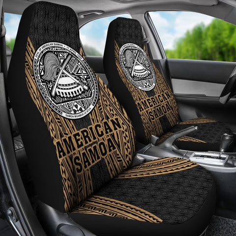 Image of American Samoa Car Seat Cover