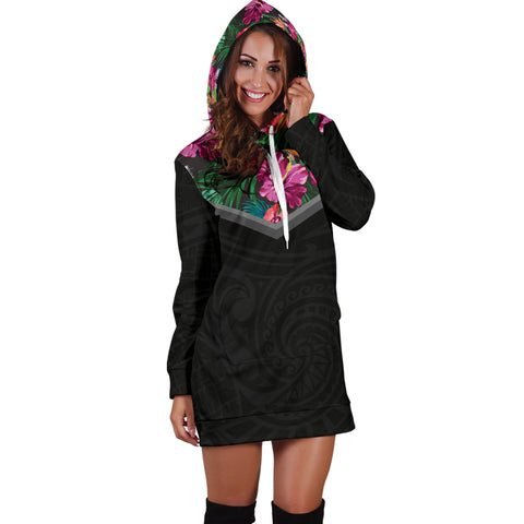 Image of Hibiscus Hoodie Dress - AH - Alohawaii