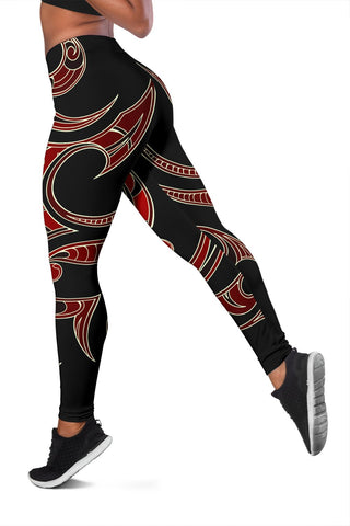 Polynesian Tribal Women's Leggings - Juno Style