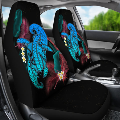 Hawaii Turtle Polynesian Tropical Car Seat Cover - Ghia Style Turquoise - AH - J4 - Alohawaii
