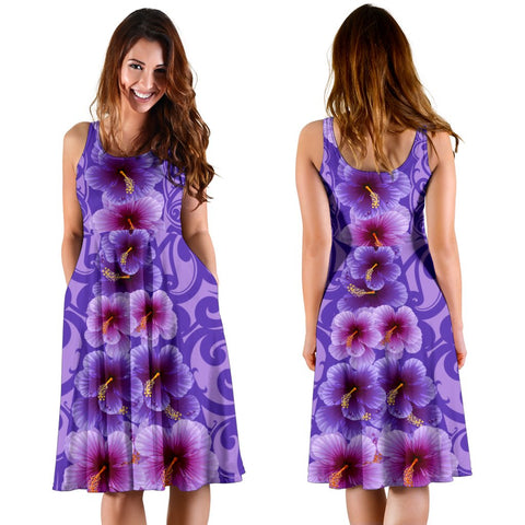 Hawaii Hibiscus Polynesian - Hawaiian Women's Dress