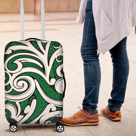Polynesian Maori Ethnic Ornament Green Luggage Covers - AH - J11 - Alohawaii