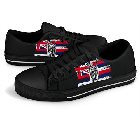 Image of Hawaii King Flag Low Top Shoe - J4