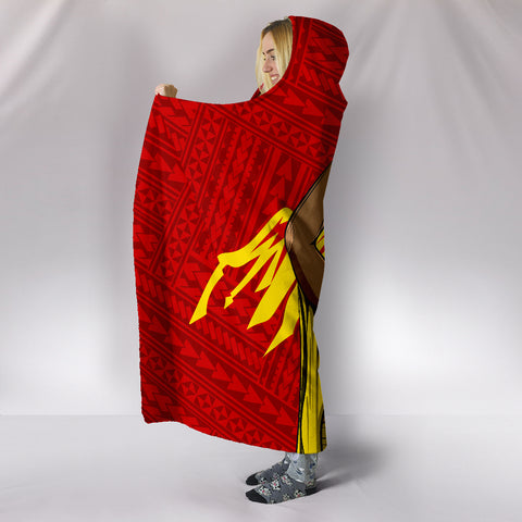 Image of Hawaii Hooded Blanket - King Mauna Kea - AH - J11 - Alohawaii
