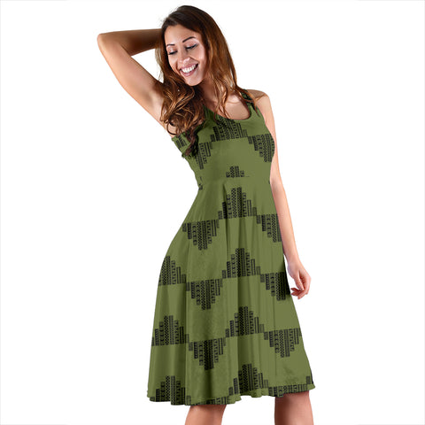 Hawaii Kapala Women's Dress - Green - AH - J4 - Alohawaii
