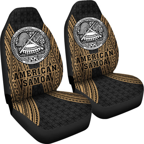 Image of American Samoa Polynesian Car Seat Covers - Gladiator Style J1