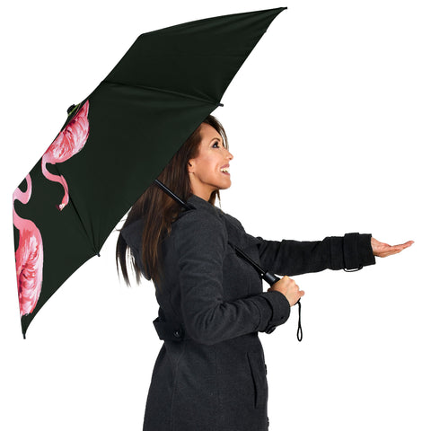 Hibiscus Flamingo Umbrella - AH - J1 - Alohawaii
