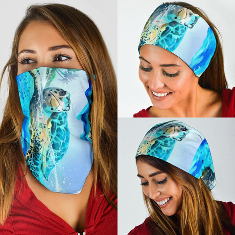 Hawaii Sea Turtle Bandana 3-Pack - AH - J5 - Alohawaii