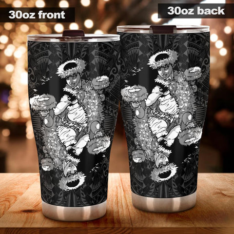 Image of Hawaii Polynesian Hula Girl Tumbler - AH - J5 - Alohawaii
