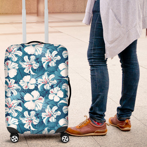 Hibiscus Luggage Cover 03 - AH - J9 - Alohawaii
