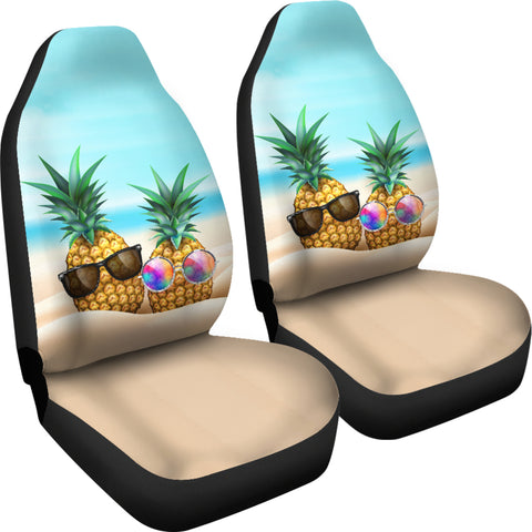 Image of Pineapple Car Seat Covers 04 - AH - Alohawaii
