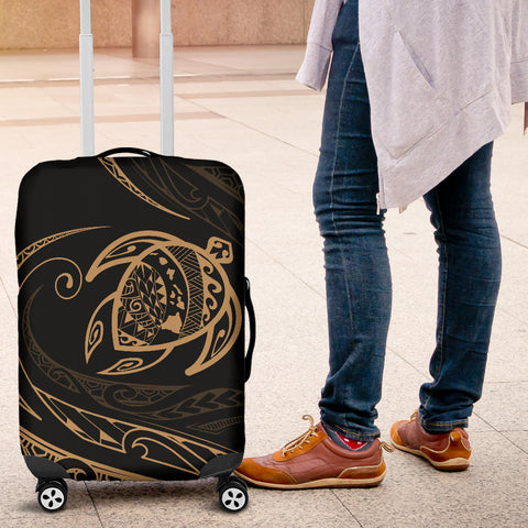 Hawaii Turtle Luggage Covers - Gold - Frida Style - AH J91 - Alohawaii