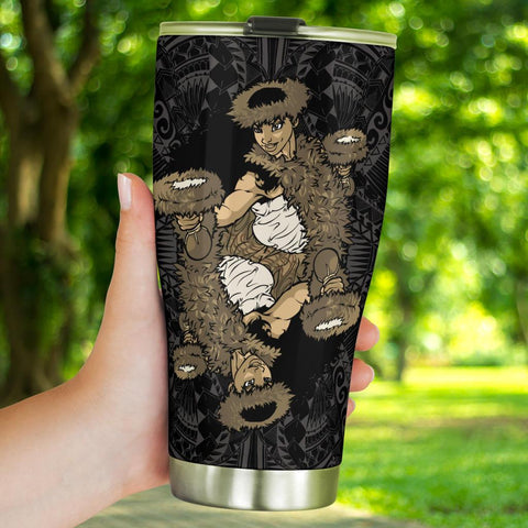 Image of Hawaii Polynesian Hula Girl Classic Tumbler - AH - J5 - Alohawaii
