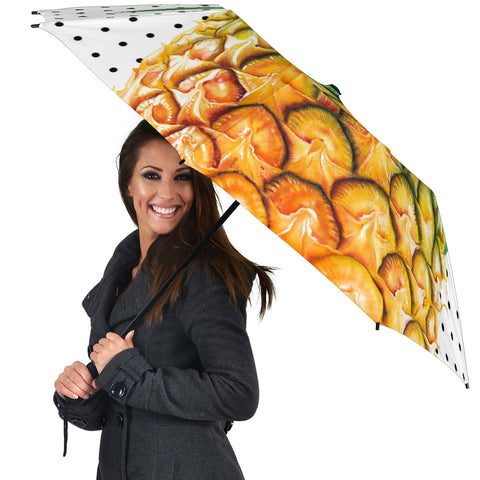 Pineapple Dottie Umbrella - AH - A0 - Alohawaii