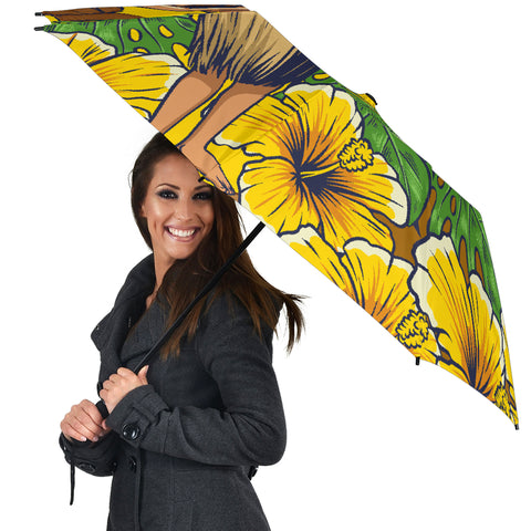 Image of Hula Girl Dance Tradition Umbrella - AH - J1 - Alohawaii