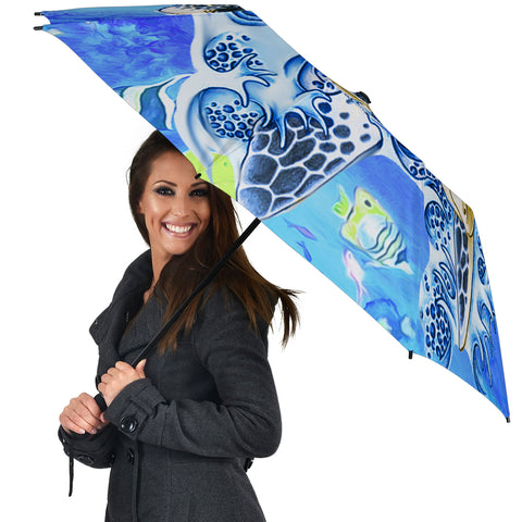 Turtle Cool Umbrella - AH - J1 - Alohawaii