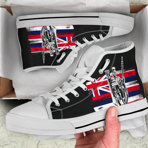 Hawaii King Flag High Top Shoe - J4