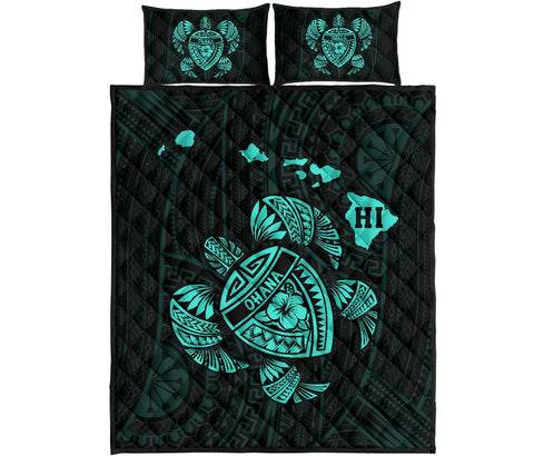 Image of Hawaii Quilt Bed Set - J6