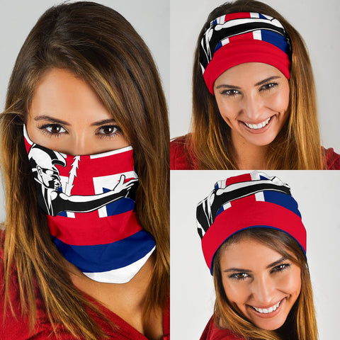 King Flag Bandana 3-Pack - White -  AH - J4 - Alohawaii