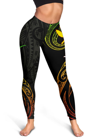 Image of Hawaiian Kanaka Polynesian Women's Leggings