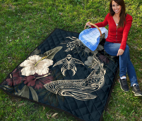 Image of Hawaiian Premium Quilt - AH