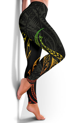 Image of Hawaiian Kanaka Polynesian Women's Leggings - Alohawaii