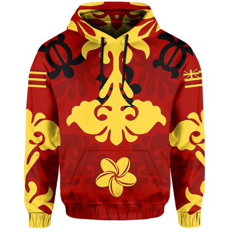 Image of Hawaiian Quilt Style Pullover Hoodie AH | Alohawaii.co