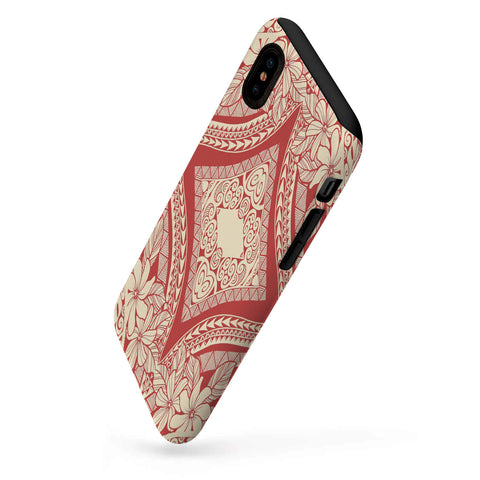 Polynesian Tough Case Red And Yellow - AH - J1 - Alohawaii