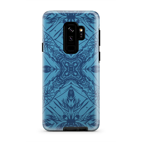 Polynesian Tough Case Blue - AH - J1 - Alohawaii