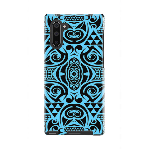 Polynesian Tough Case Grown Blue White - AH - J1 - Alohawaii