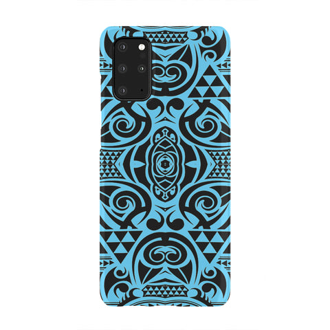 Image of Polynesian Phone Case Grown Blue White - AH - J1 - Alohawaii