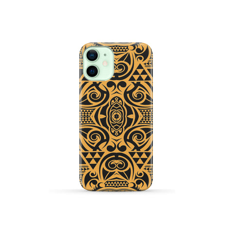 Image of Polynesian Phone Case Yellow Black - AH - J1 - Alohawaii