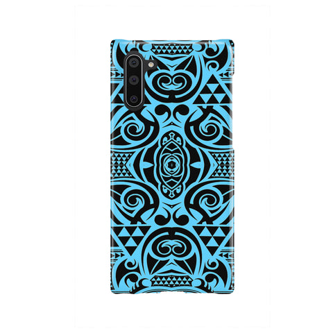 Polynesian Phone Case Grown Blue White - AH - J1 - Alohawaii