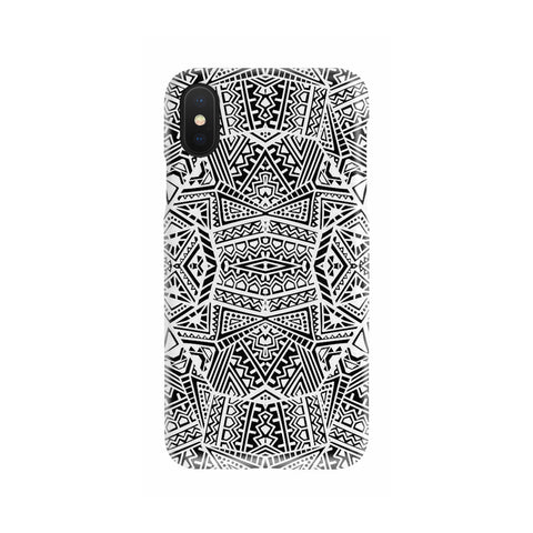 Polynesian Phone Case Blue - AH - J1