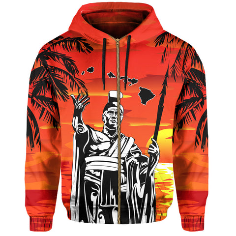 Image of Hawaiian Hoodie (Zip-up)