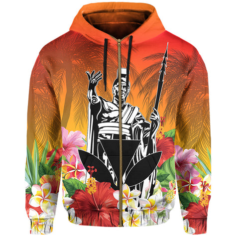 Hawaiian Hoodie (Zip-up)