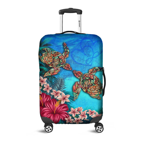 Image of Hawaii Turtle Hibiscus Sea Luggage Covers