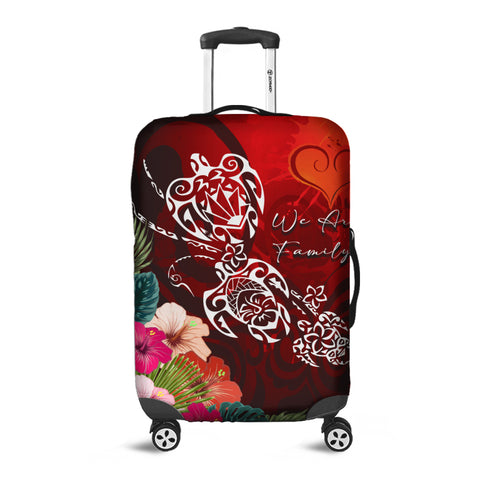 Hawaii Turtle Family Luggage Covers - We Are Family