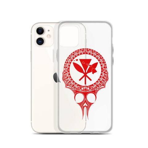 Kanaka Maoli Iphone Case The Eyes Red