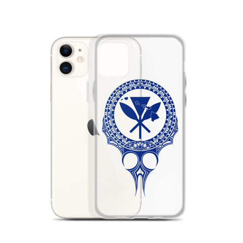 Kanaka Maoli Iphone Case The Eyes Blue
