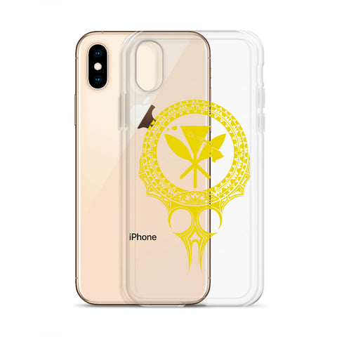 Image of Kanaka Maoli Iphone Case The Eyes Yellow AH J1 - Alohawaii