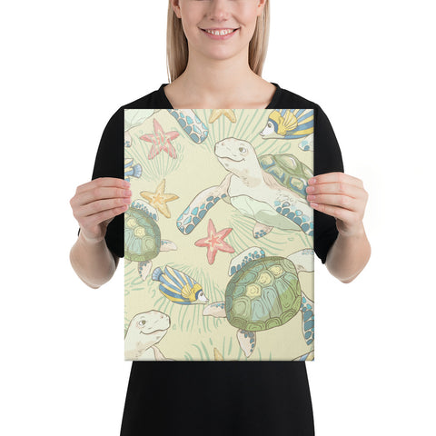 World Animal In Sea Canvas - AH - J1 - Alohawaii