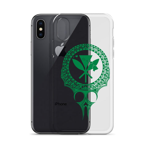 Image of Kanaka Maoli Iphone Case The Eyes Green AH J1 - Alohawaii
