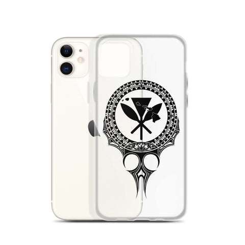 Kanaka Maoli Iphone Case The Eyes Black
