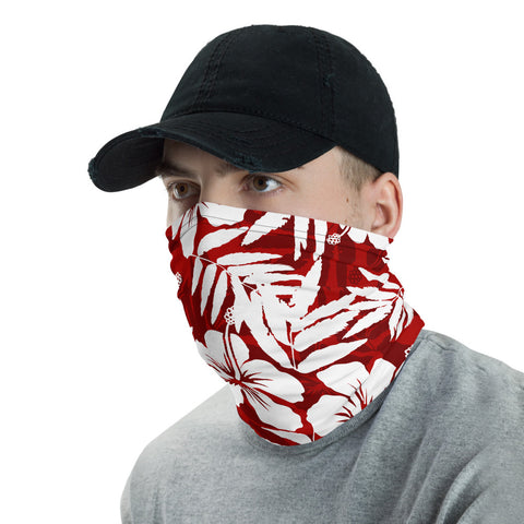 Image of Traditional Hibiscus Unisex Neck Gaiter - AH J0 - Alohawaii
