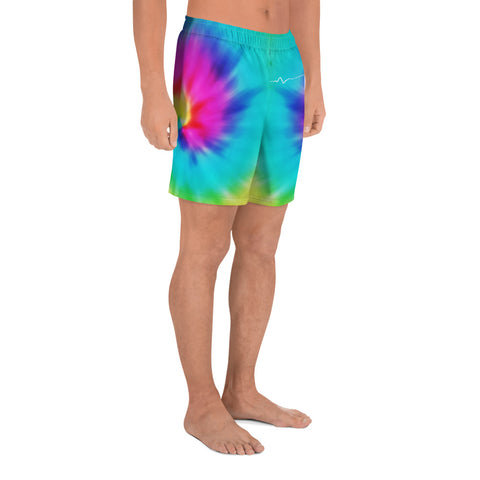 Image of Hawaiian Map Men's Short Tie Dye - AH - J1 - Alohawaii